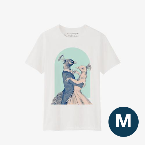 Shall We Dance T-Shirt BLUE Size M