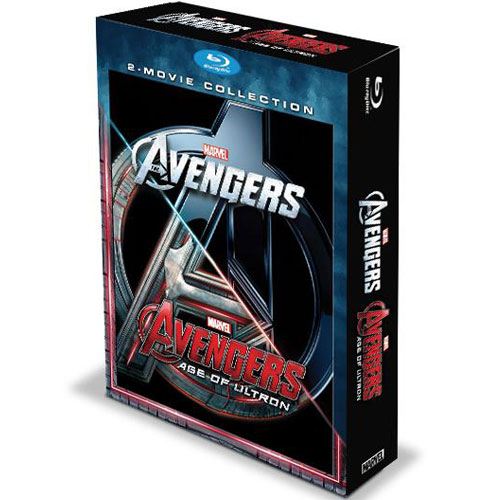 Blu-Ray 2 Movie Collection - Marvel's The Avengers- Age of Ultron - มหาศึกอัลตรอนถล่มโลก