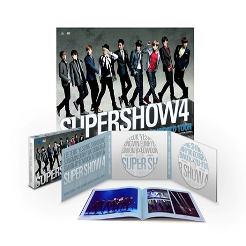 Super Junior World Tour `Super Show 4` DVD