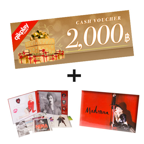 Cash Voucher + Booklet  Madonna