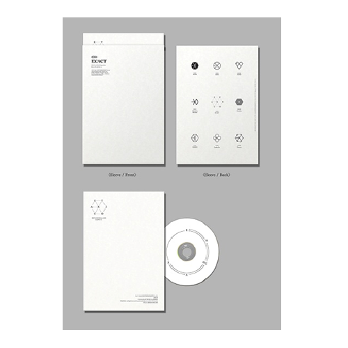 EXO : The 3rd Album / EX'ACT (Korean Ver.) / Lucky One [LOCAL]