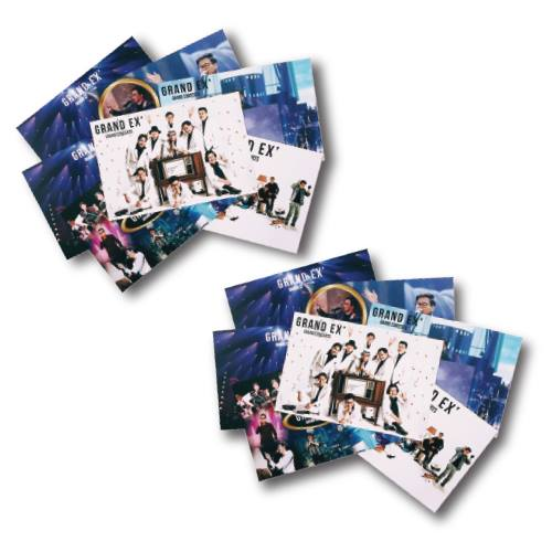 แพ๊กเกจโปสการ์ดภาพคอนเสิร์ต GRAND EX GRAND CONCERTS 2016