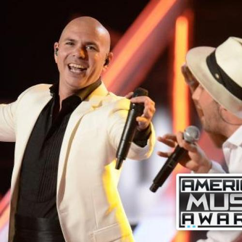 ซูเปอร์สตาร์เพลงระดับโลก พิทบูล คืนเวที รับหน้าที่ผู้ดำเนินรายการ อเมริกัน มิวสิค อวอร์ดส