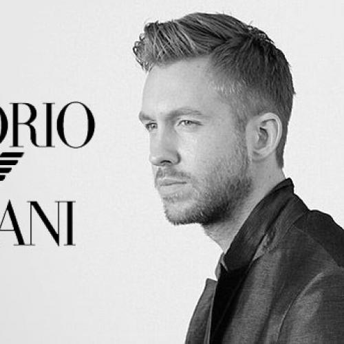 "Calvin Harris กับบทบาทใหม่ พรีเซนเตอร์ของ ""Emporio Armani"""
