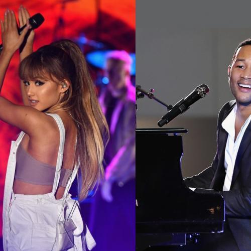 """ประกาศแล้ว เพลง """"Beauty and the Beast""""  เวอร์ชั่น 2017 คว้า Ariana Grande  ประกบ John Legend"""