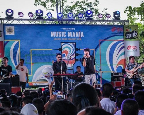 ฟินสุด!...ความสุขเต็มโรงเรียน 14 ศิลปินจัดเต็มคอนเสิร์ต Music Mania School TourConcert 2018