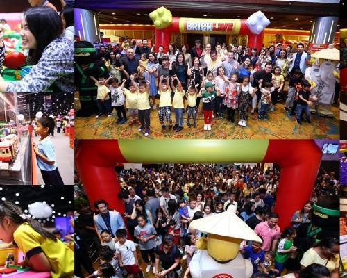 """เปิดแล้ว! งานเลโก้ระดับโลกที่ใหญ่ที่สุดในเอเชีย """"บริคไลฟ์ บิวท์ ฟอร์ เลโก้ แฟน"""""""