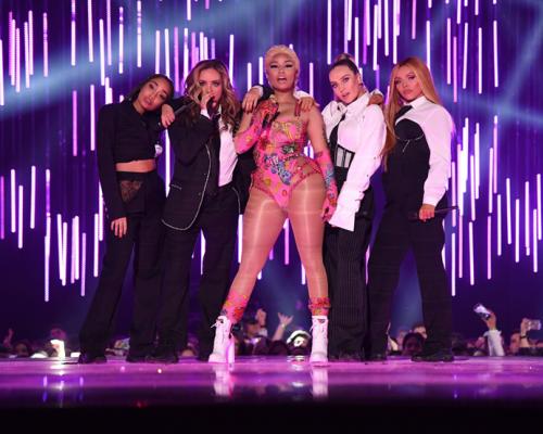 Little Mix & Nicki Minaj ระเบิดความแซ่บ!  บนเวที 2018 MTV Europe Music Awards!