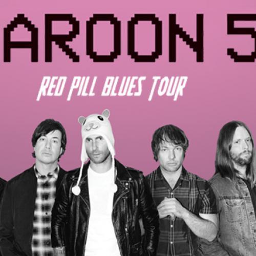 เตรียมตัวกันให้พร้อม!! Maroon 5Red Pill Blues Tour 2019