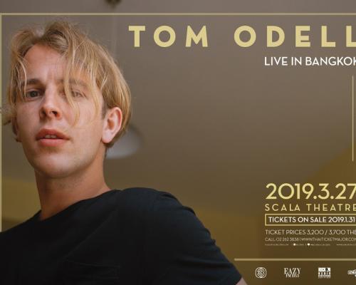 """ครั้งแรกในไทยกับศิลปินขวัญใจนักวิจารณ์เพลงจากเวที บริท อวอร์ดส """"Tom Odell"""""""