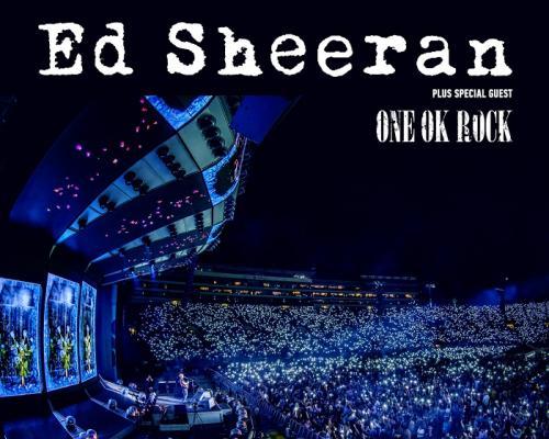 """แฟนเพลงชาวไทยเฮ Ed Sheeran ประกาศ  ONE OK ROCK เล่นเปิดคอนเสิร์ต """"Ed Sheeran Divide Asia Tour"""""""
