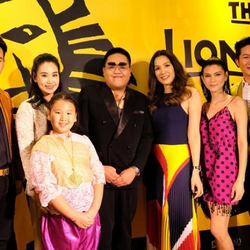 """เหล่าศิลปินดาราไทยทึ่ง  นักแสดงนำมิวสิคัลอันดับ 1 ของโลก """"เดอะ ไลอ้อน คิง"""""""