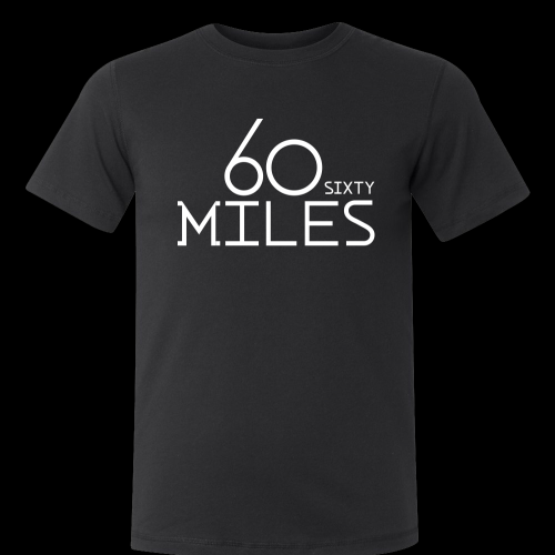 60 miles t-shirt 2014 Size S