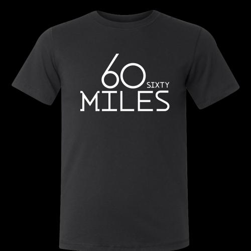 60 miles t-shirt 2014 Size M