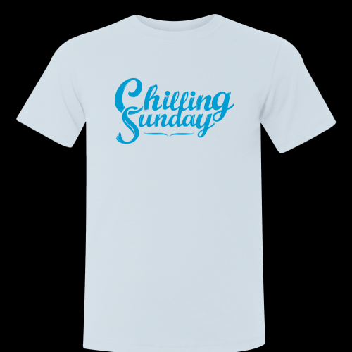 Chilling Sunday T-shirt Size L