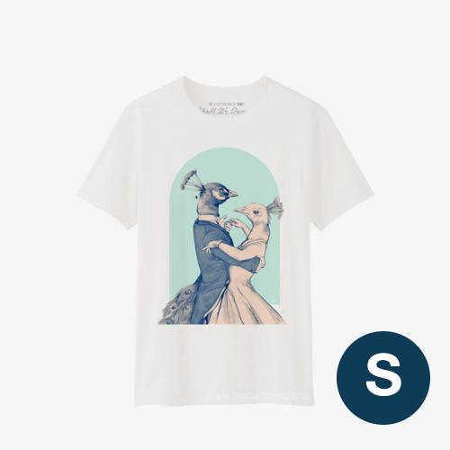 Shall We Dance T-Shirt BLUE Size S
