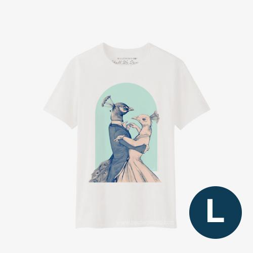 Shall We Dance T-Shirt BLUE Size L