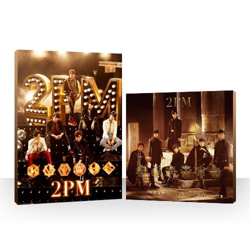 Double Package 1 2PM OF 2PM (Limited B) + LEGEND OF 2PM