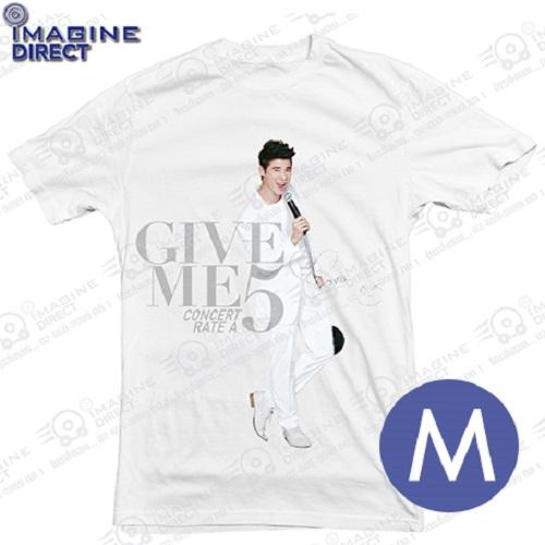 T-Shirt Give Me 5 แบบยืนมาริโอ้ M