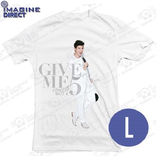 T-Shirt Give Me 5 แบบยืนมาริโอ้ L