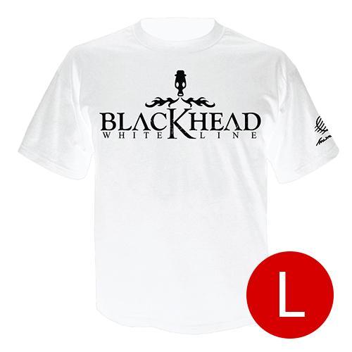 เสื้อยืดคอกลม โลโก้ Blackhead สีขาว size l