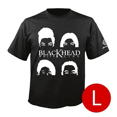 เสื้อยืดคอกลม ศิลปิน Blackhead สีดำ size l