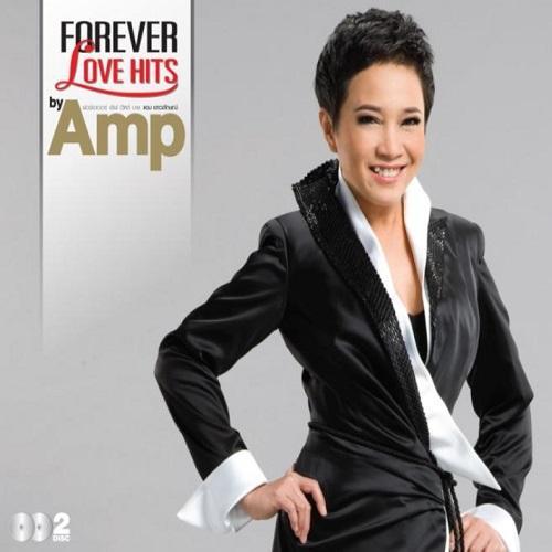 CD Forever Love Hits by แอม เสาวลักษณ์
