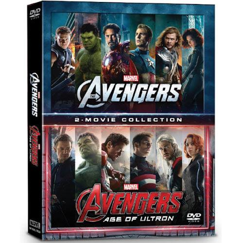 DVD 2 Movie Collection - Marvel's The Avengers- Age of Ultron - มหาศึกอัลตรอนถล่มโลก