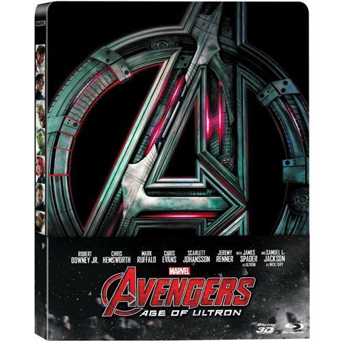 Blu-Ray - Steelbook - Marvel's The Avengers- Age of Ultron - มหาศึกอัลตรอนถล่มโลก