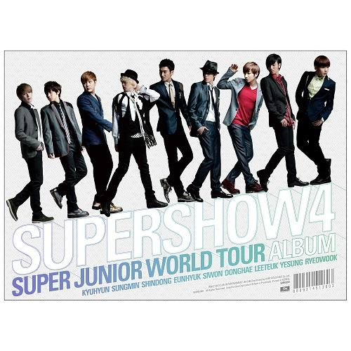 Super Junior World Tour `Super Show 4` Live CD