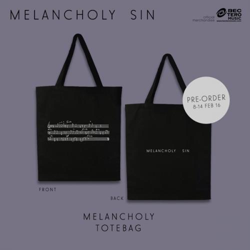 MELANCHOLY SIN TOTEBAG