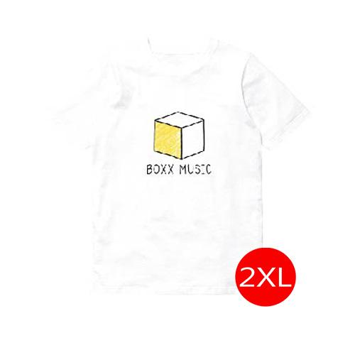 T-Shirt BOXX Music สีขาว Size 2XL