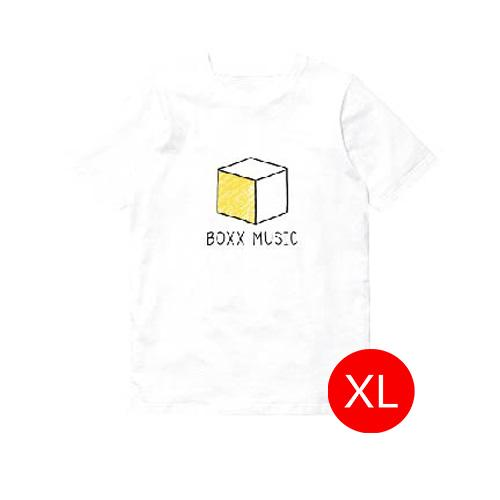 T-Shirt BOXX Music สีขาว Size XL