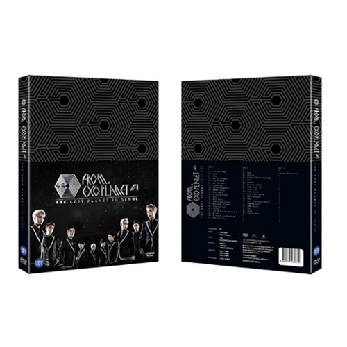 EXO FROM. EXOPLANET #1 –  THE LOST PLANET [LOCAL/ 3 DVDs]