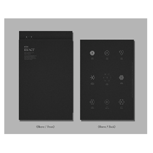 EXO : The 3rd Album / EX'ACT / Bundle Package Monster [LOCAL]