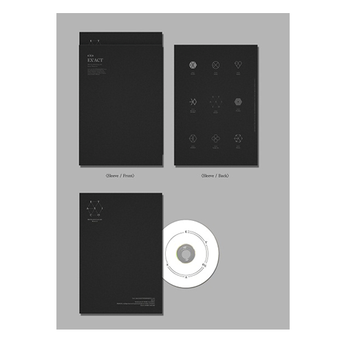 EXO : The 3rd Album / EX'ACT (Korean Ver.) /Monster [LOCAL]