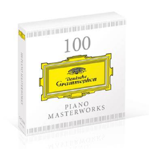 100 Piano Masterworks (5CD-A)