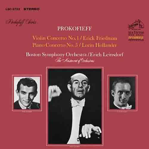 Prokofiev: Violin Concerto No. 1 in D Major, Op. 19 & Piano Concerto No. 5 in G Major, Op. 55
