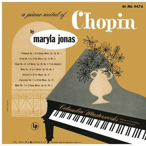 Maryla Jonas: A Piano Recital of Chopin