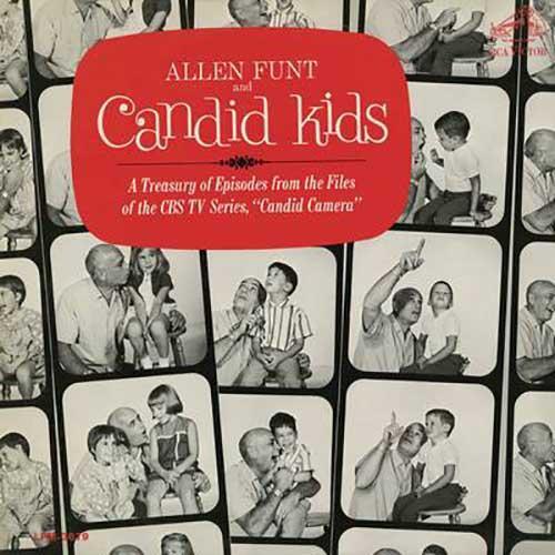 Allen Funt and Candid Kids