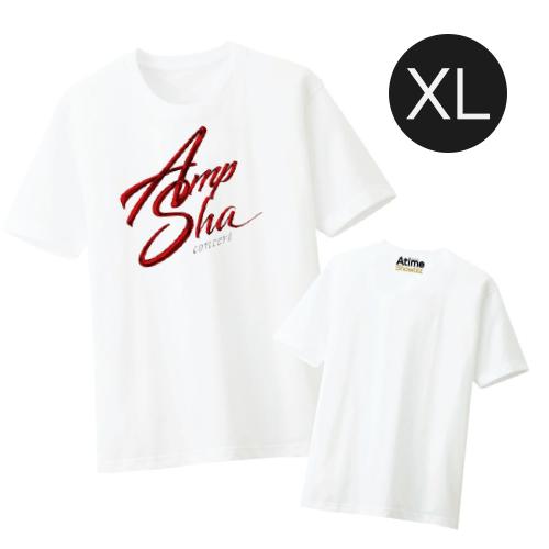 เสื้อยืดขาว Logo Amp-Sha Concert Size XL