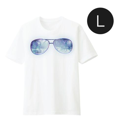 เสื้อยืดสีขาว Glasses JDNA X-TREME CONCERT Size L