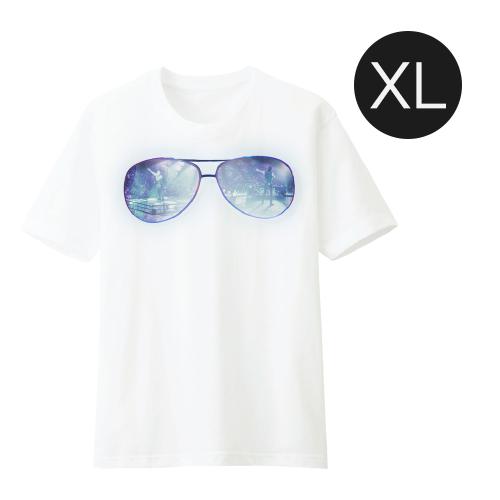 เสื้อยืดสีขาว Glasses JDNA X-TREME CONCERT Size XL