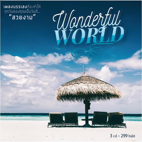 CD เพลงบรรเลง Wonderful World เพลงบรรเลงที่จะทำให้ทุกวันเป็นวันที่สวยงาม