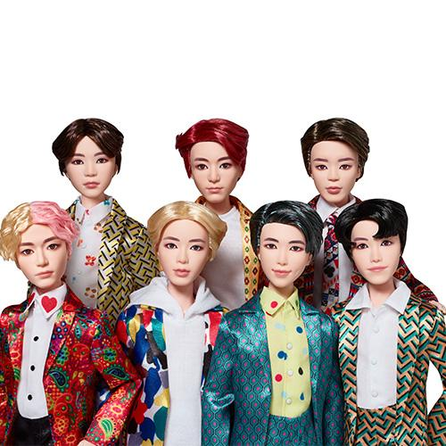BTS Idol Doll 7 ตัว + ของแถมไพ่UNOรูปBTS