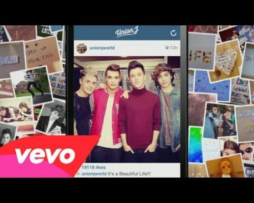 Union J - Beautiful Life (Fan Lyric Video)