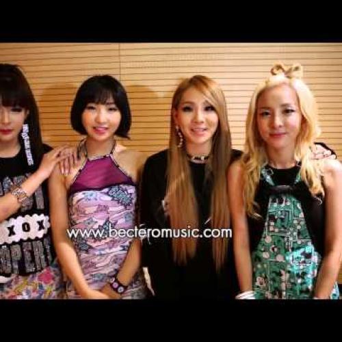 2NE1's Message to Thai fans