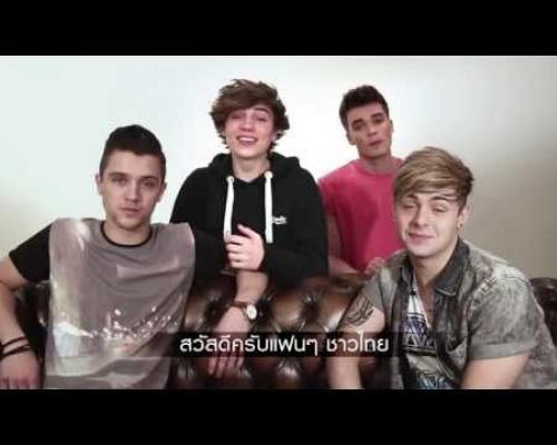Union J : Messgaes to Thai Fans
