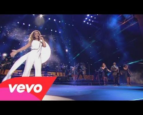 Celine Dion - Celle qui m'a tout appris (Live)