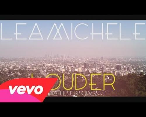 Lea Michele - Louder Diaries Episode 2